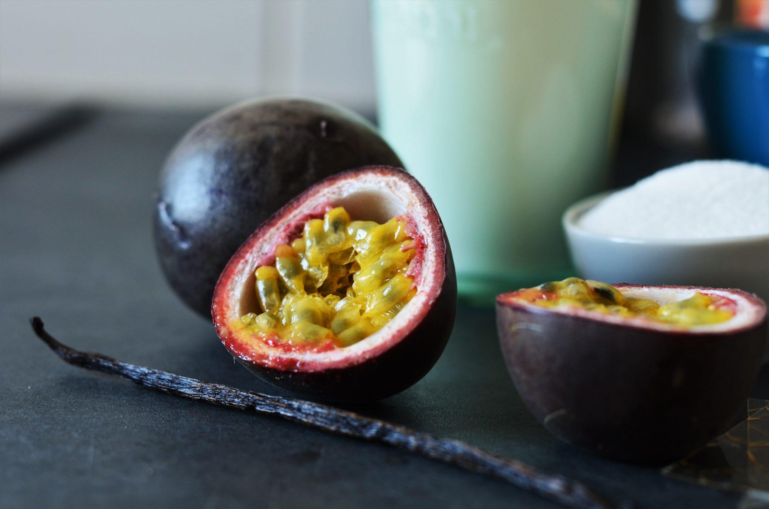 Panna cotta exotique à la mangue & crème de coco